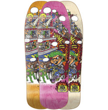 New Deal Andy Howell Tricycle Kid Old School Reissue Screened Deck 9.625""