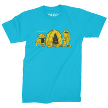 StrangeLove Tent City T-Shirt (Turquoise)