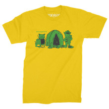 StrangeLove Tent City T-Shirt (Harvest Gold)