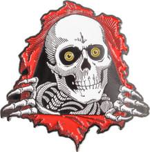 Powell Peralta Ripper Lapel Pin (Red)