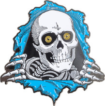 Powell Peralta Ripper Lapel Pin (Blue)
