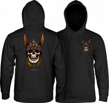 Powell Peralta Anderson Heron Skull Hooded Sweatshirt (Available in 2 Colors)
