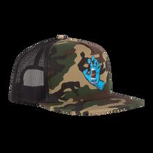Santa Cruz Screaming Hand Mesh Trucker Hat (Camo)