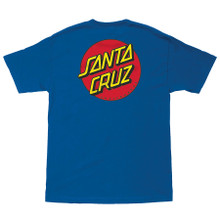 Santa Cruz Classic Dot Chest T-Shirt (Available in 2 Colors)