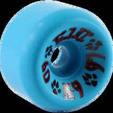 Dogtown K-9 80's Wheels 60mm x 97a - Neon Blue (Set of 4)