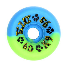 Dogtown K-9 80's Wheels 60mm x 95a - Green Blue Swirl (Set of 4)