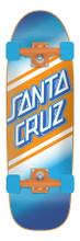 "Santa Cruz Street Skate Complete Cruiser Skateboard (Blue/Orange) 8.79"" x 29.05"" FREE USA SHIPPING"