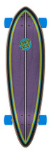 "Santa Cruz Dot Splatter Pintail Complete Cruiser Skateboard 9.3"" x 33"" FREE USA SHIPPING"