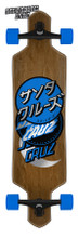 "Santa Cruz Group Dot Drop Thru Complete Cruiser Skateboard 9"" x 36"" FREE USA SHIPPING"