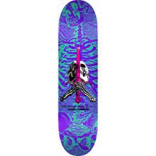 """Powell Peralta Skull & Sword Deck Purple 8.25"""" x 31.95"""""""