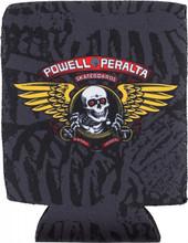 Powell Peralta Winged Ripper Black Koozie