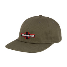 Independent Truck Co. O.G.B.C. Cachet Unstructured Snapback Hat (Olive)