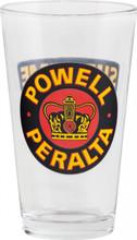 Powell Peralta Supreme Pint Glass