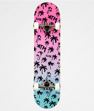 """ATM Neon Beach Complete Skateboard 7.75"""" FREE USA SHIPPING"""