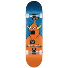 """Toy Machine Templeton Camera Monster Complete Skateboard 8.50"""" FREE USA SHIPPING"""
