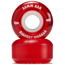 Bigfoot Wheels 55mm 83a Red (Set of 4)