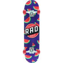 "Rad Board Co. Melon Complete Skateboard 7.25"" x 30"""
