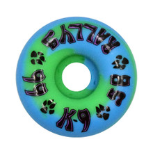 Dogtown K-9 Rallys Wheels 58mm x 99a - Blue/Green (Set of 4)