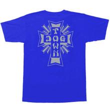 Dogtown Cross Logo T-Shirt (Royal Blue/Grey)
