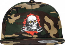 Powell Peralta Ripper Snapback Hat (Camo)