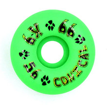 Dogtown K-9 Conical Wheels 56mm x 99a - Neon Green (Set of 4)