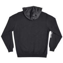 Santa Cruz Oval Dot Pullover Hooded Sweatshirt (Black)