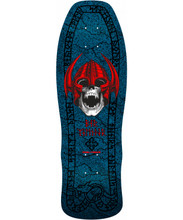 Powell Peralta Old School Welinder Nordic Skull Re-Issue Deck (Blue)