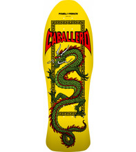 Powell Peralta Old School Steve Caballero Chinese Dragon Re-Issue Deck (Yellow)