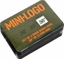 "Mini Logo Risers Hard 1/2"""
