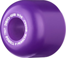 POWELL PERALTA MINI CUBIC PURPLE WHEELS 64MM/95A