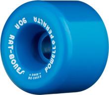 Powell Peralta Blue Rat Bones Wheels 60mm/90a (Set of 4)