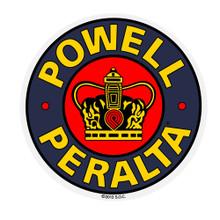 "Powell Peralta Supreme 3.5"" Reissue Sticker"