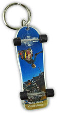 Old School Tony Hawk Fingerboard Keychain