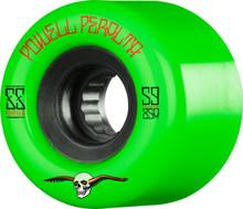 Powell Peralta G-Slides 56mm 85a Green Wheels 4 pk