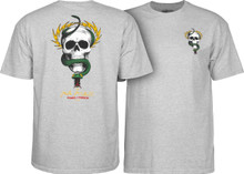 Powell Peralta Old School McGill Skull & Snake T-Shirt (Available in 4 Colors)