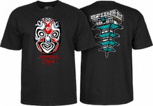 Powell Peralta Old School Animal Chin Mask T-Shirt (Available in 4 Colors)