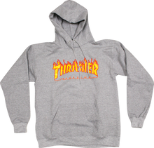 Thrasher Magazine Flame Logo Pullover Sweatshirt (Available in 4 Colors)