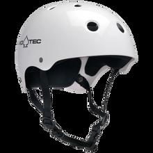 PRO-TEC CLASSIC GLOSS WHITE HELMET