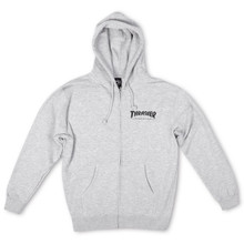 Thrasher Magazine Logo Zip Hooded Sweatshirt (Available in 3 Colors)