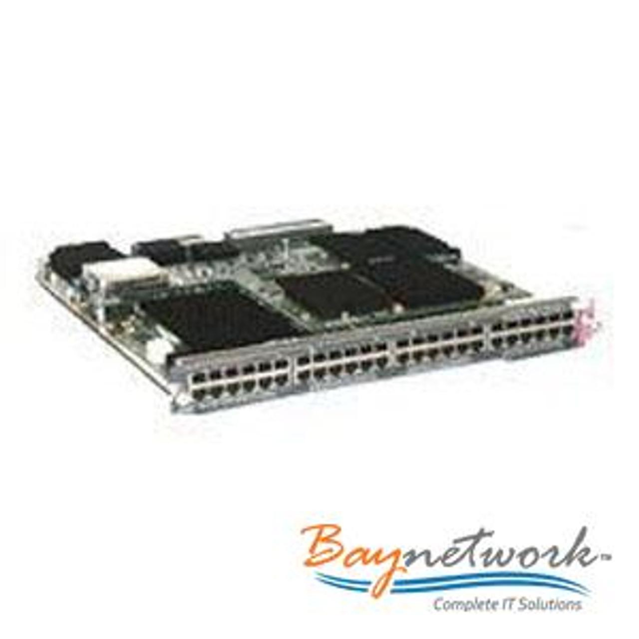Cisco WS-X6748-GE-TX Gigabit Network Module 6500 Series