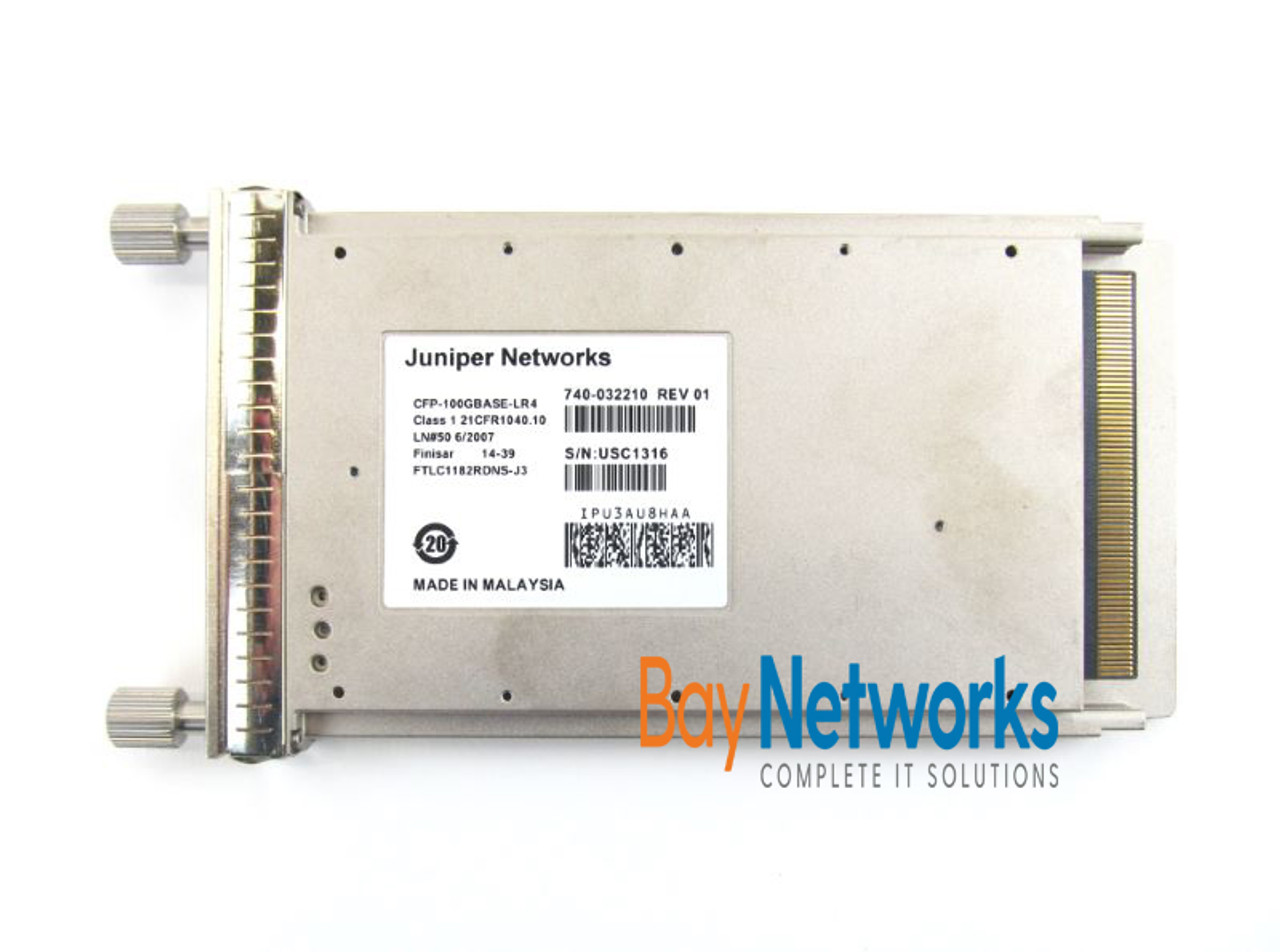 Juniper CFP-GEN2-100GBASE-LR4 100-Gig Optical Transceiver