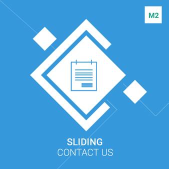 Magento 2 Sliding Contact Us