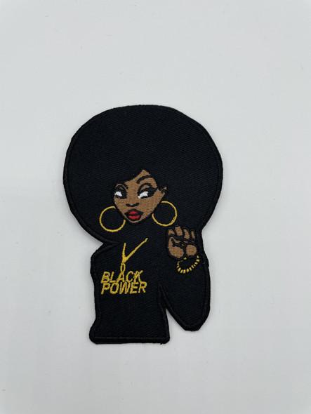 Black Power Girl Patch