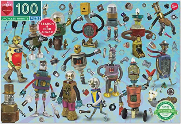 Upcycled Robots - 100 Piece