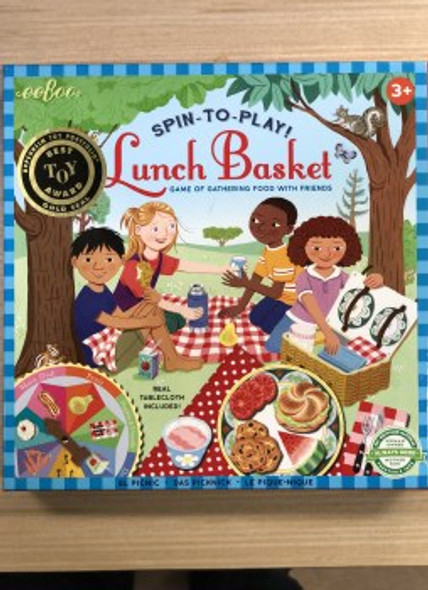 Spin To Play Lunch Basket