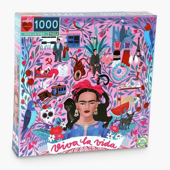 Piece and Love Viva la Vida Frida Kahlo