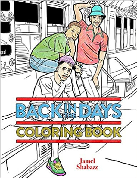 Back in the Days Coloring Book