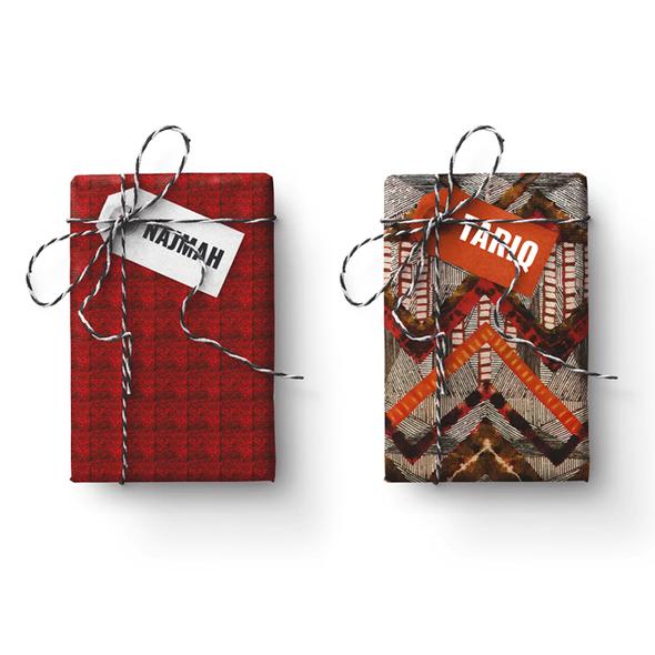 Tariq-Najmah Double-Sided Stone Gift Wrapping Paper