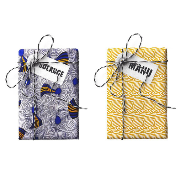 Solange Manu Double-sided Stone Gift Wrapping Paper