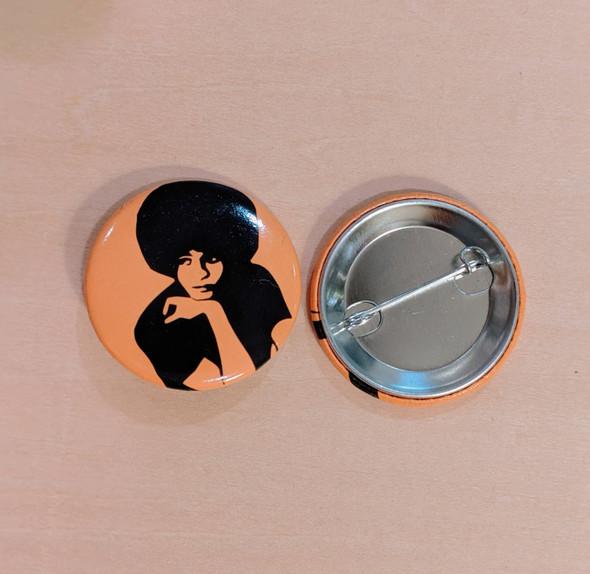 Button - Angela Davis